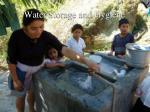 water storage and hygiene