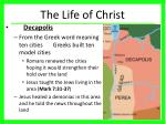 the life of christ1