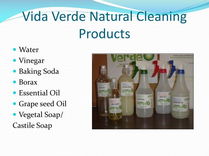 Vida Verde Natural Cleaning Products