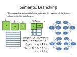 semantic branching