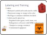 labeling and training
