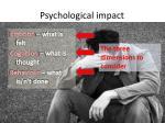 psychological impact1