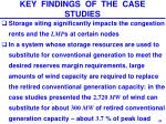 key findings of the case studies