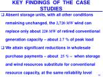 key findings of the case studies1