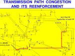 transmission path congestion and its reenforcement