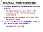 dplasma work in progress