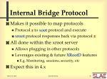 internal bridge protocol