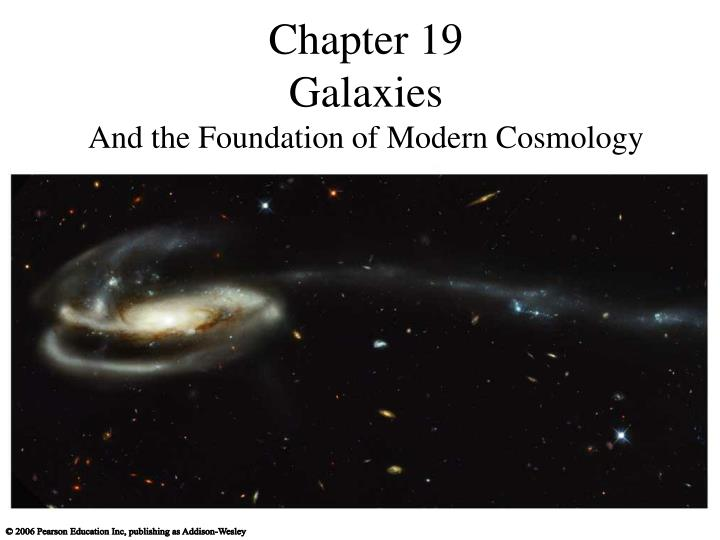 chapter 19 galaxies and the foundation of modern cosmology n.