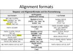 alignment formats