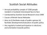 scottish social attitudes