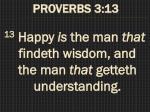 proverbs 3 13