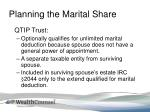 planning the marital share5