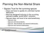 planning the non marital share2