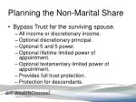 planning the non marital share3