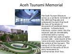aceh tsunami memorial