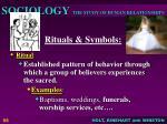 rituals symbols