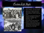 puritan life style