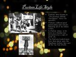 puritan life style1