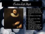 puritan life style2