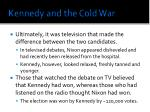 kennedy and the cold war1