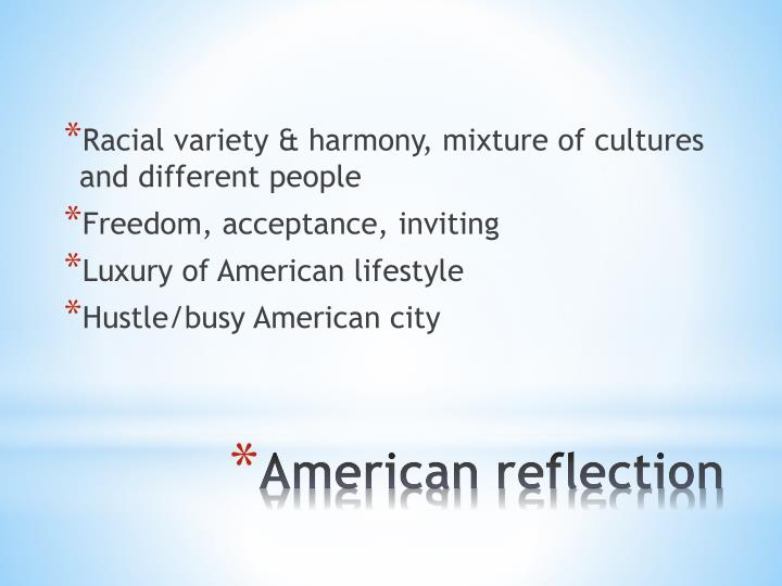 Racial variety & harmony, mixture of cultures and different people