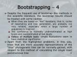 bootstrapping 4