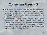 consensus trees 3