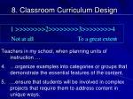 8 classroom curriculum design3