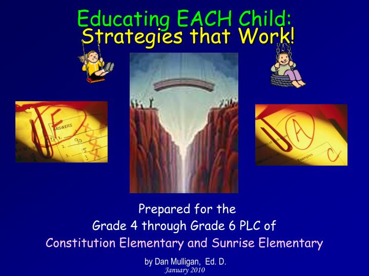 educating each child strategies that work n.