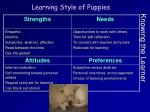 knowing the learner4