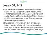 jesaja 58 1 122