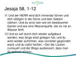 jesaja 58 1 125