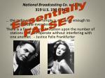 national broadcasting co v u s 319 u s 190 19431