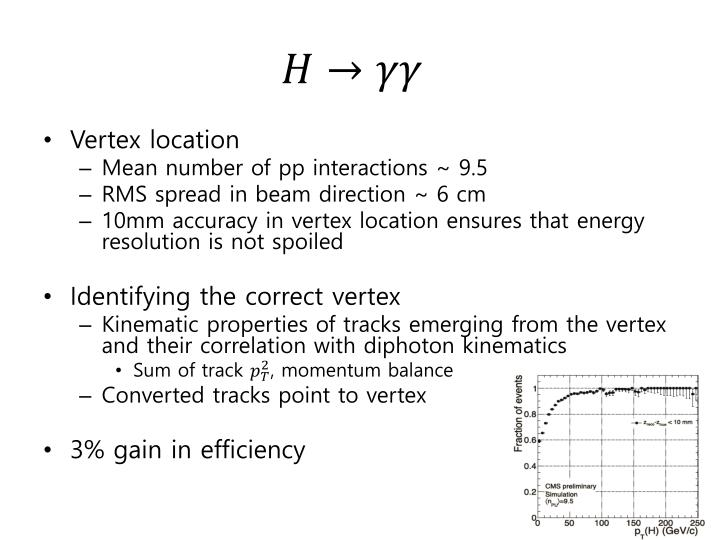 Vertex location