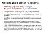 carcinogenic water pollutants2