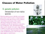 classes of water pollution7