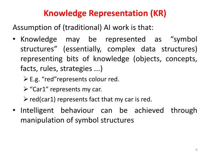Knowledge Representation (KR)