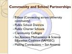 community and school partnerships1