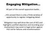 engaging mitigation