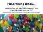 fundraising ideas1