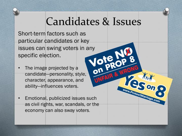 Candidates & Issues