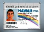 should you need id to vote