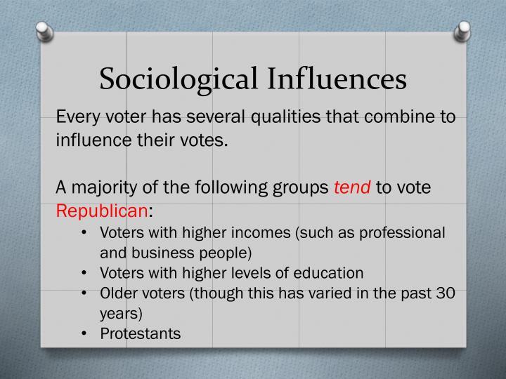 Sociological Influences