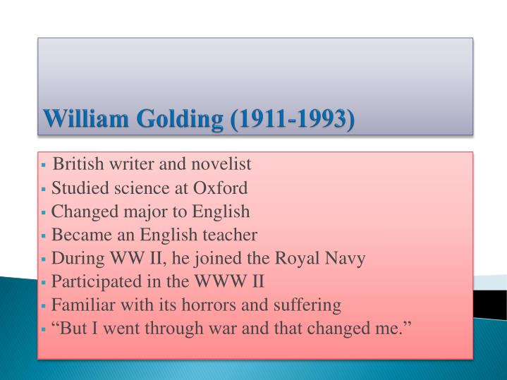 william golding 1911 1993 n.
