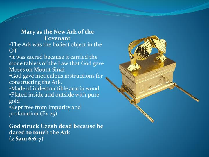 Mary as the New Ark of the Covenant