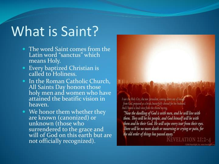 What is Saint?