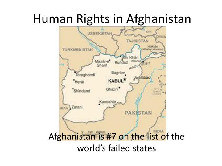 human rights in afghanistan n.
