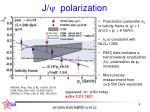 j y polarization