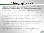 bibliography 1 of 2