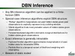 dbn inference